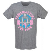 46_Powerlifting For Pink 2015 T-Shirt (Men's)